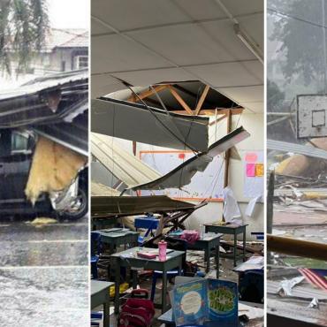 [VIDEO & GAMBAR] Keadaan Di Melaka Semasa Dilanda Ribut Kuat, Banyak Yang Terjejas